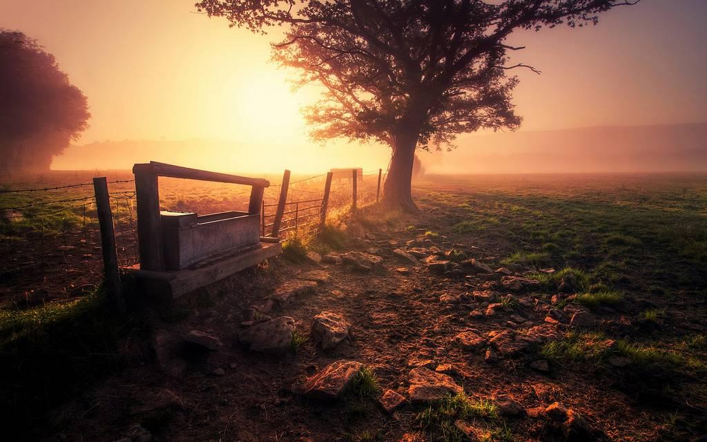 Büyüleyici gün batımı